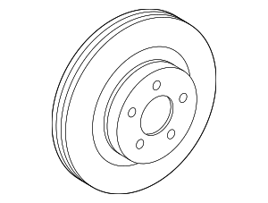 Disc Brake Rotor - Toyota (43512-02370)