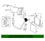 Thermostat Unit - Land-Rover (LR032135)