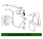 Thermostat Unit Tube - Land-Rover (LR033995)