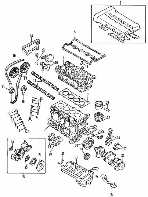 Engine for 2004 Kia Rio | Kia Parts OnlineKia Parts Online