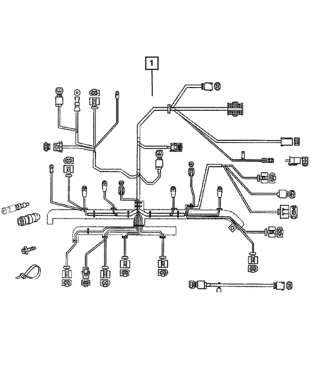 Engine Wiring - Mopar (5120167AA)