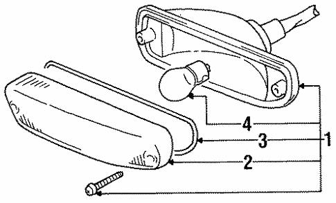 2000 Chevy Metro Throttle Body