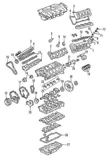 98 pontiac bonneville engine diagram engine for 2004 pontiac bonneville (gxp) | gmpartsnow #12