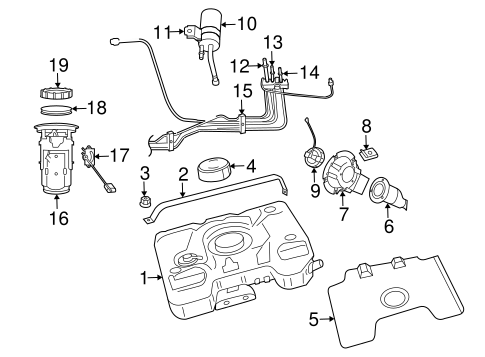 Fuel System Components For 2004 Dodge Viper