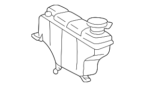 Expansion Tank - Mercedes-Benz (202-500-06-49)