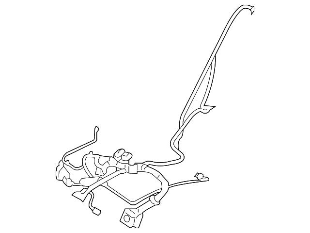 2010 lincoln mkx wire harness 9a1z