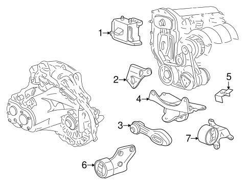 Engine & Trans Mounting for 2000 Pontiac Sunfire | GMPartOnlineGM Parts Online