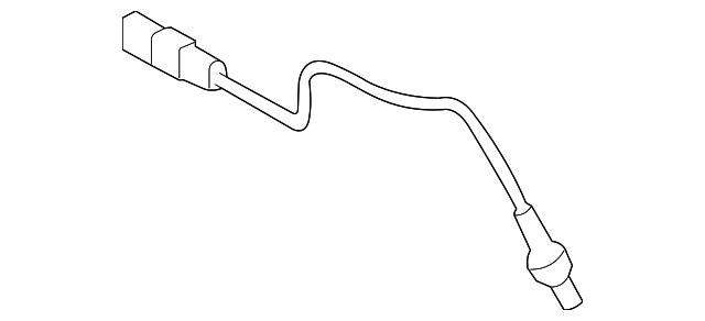 Oxygen Sensor Front Left for 2010 Santa Fe 3.5L 392103CAA0