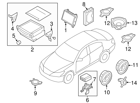 Genuine Hyundai 84697-3N250-W2V Floor Console Air Vent Cover Assembly