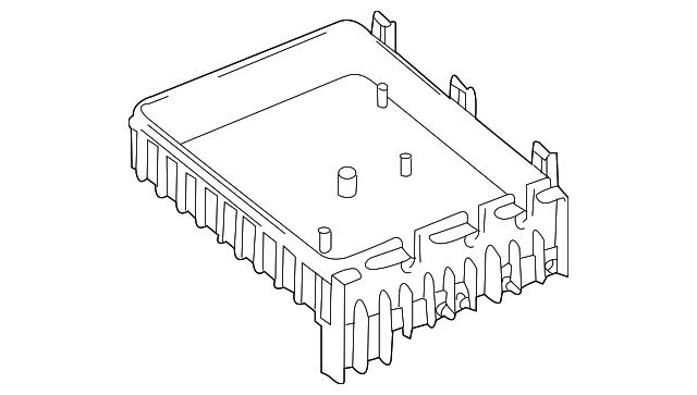 volkswagen fuse  u0026 relay box  3c0