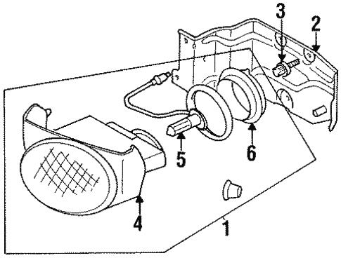 1999 Dodge Fuel Filter Housing
