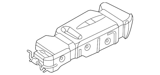 2005 2007 Dodge Durango Fuel Tank 5140388ah