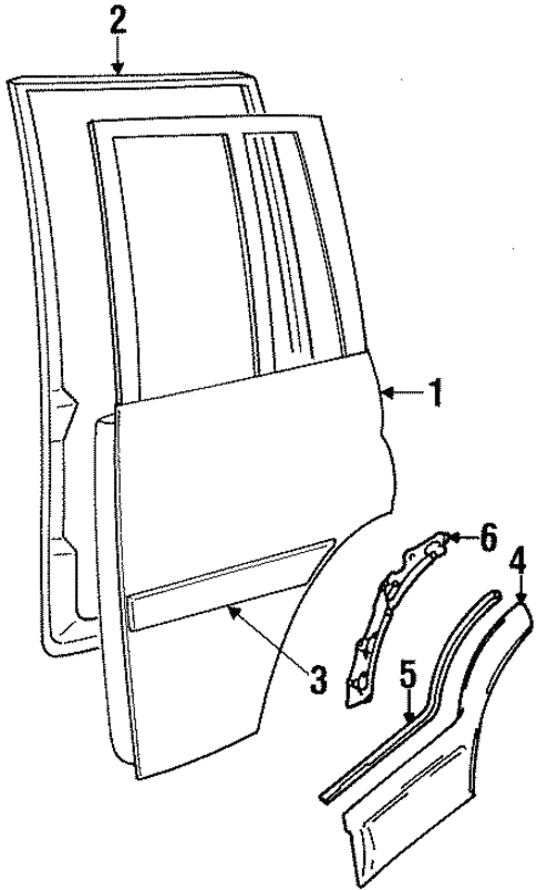 Door Components For 1998 Suzuki Sidekick
