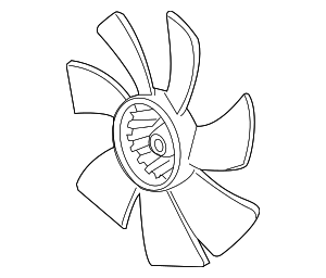 Fan, Cooling - Acura (38611-R40-A01)