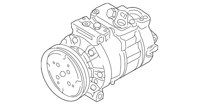 Kearny Mesa Vw >> Genuine OEM [Brand] Compressor Part# 1K0-820-808-F Fits 2005-2017 Volkswagen: Up To 35% Off On ...