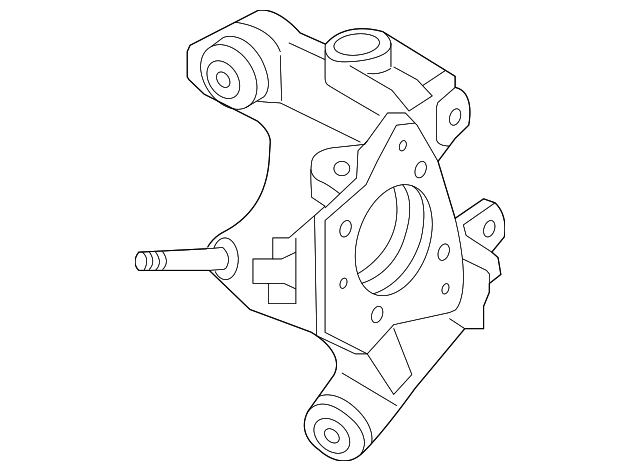 2014 2017 Honda Knuckle R Rear 52210 T3v A00
