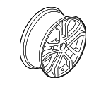Wheel, Alloy - Ford (KS7Z-1007-C)