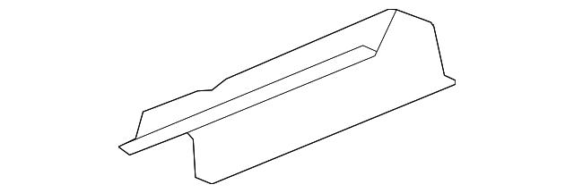Heat Shield Gm 25925238 Gmpartsnow