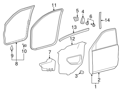 BODY/DOOR & COMPONENTS for 2013 Toyota Land Cruiser #1