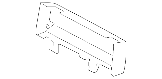 TOYOTA Genuine 71691-60080-B0 Seat Cushion Hinge Cover