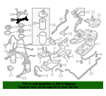 Fuel Filter Lower Bracket