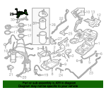 Fuel Filter Upper Bracket