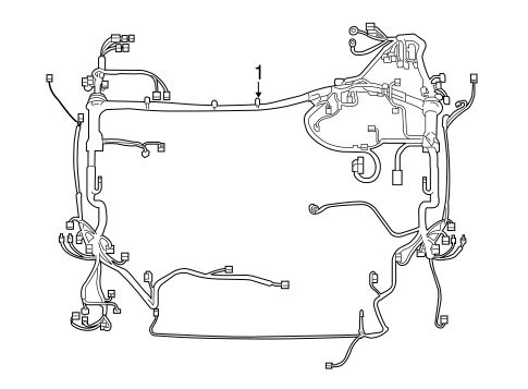 wiring harness for 2016 toyota rav4