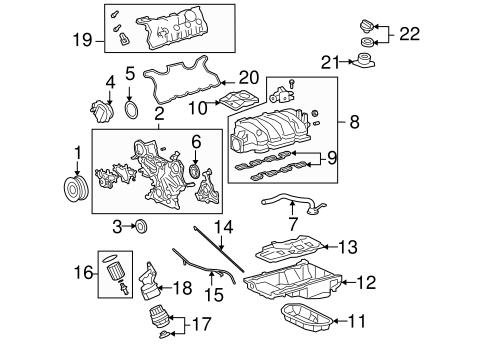 Engine Parts For 2010 Lexus Ls460
