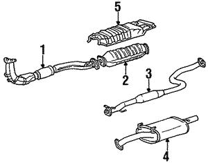 OEM Hyundai Genesis Catalytic Converter 28950-3F041