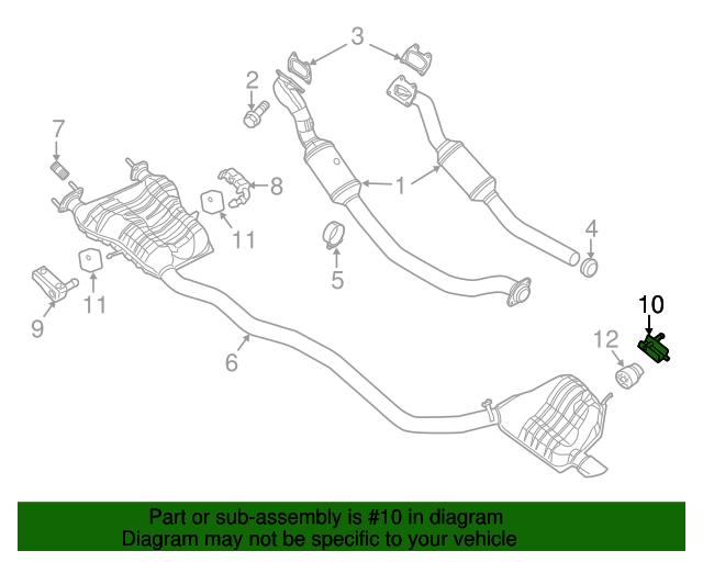 Genuine Chrysler 68056524AC Exhaust Hanger Bracket