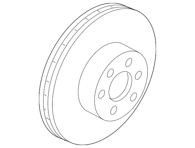 Brake Rotor Brake Rotor Genuine Nissan Parts