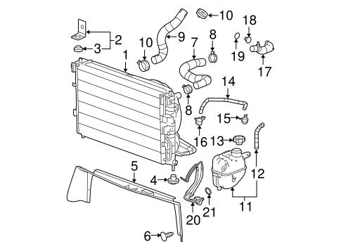 [NRIO_4796]   Radiator & Components for 2005 Chevrolet Equinox (LT) | GMPartsNow | 2005 Equinox Engine Diagram |  | GMPartsNow