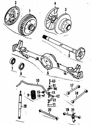 Mazda ZZC0-26-810 Parking Brake Lever