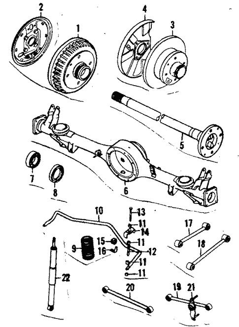 Rear Suspension For 1984 Mazda Rx 7