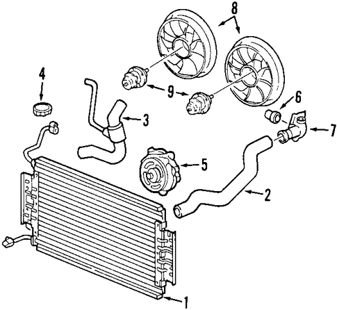 Water Pump Scat additionally 96 Olds Aurora Engine Diagram moreover 2 24l Belt besides ShowAssembly also 2002 Ford Taurus Engine Diagram. on oldsmobile alero water pump location
