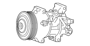 Compressor Assembly - Toyota (88310-1A841)