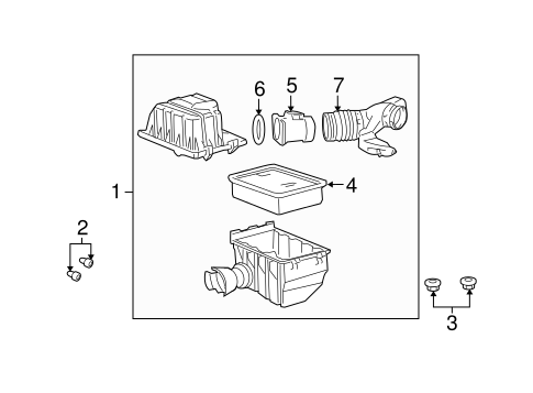 filters for 2005 lincoln aviator oem ford parts. Black Bedroom Furniture Sets. Home Design Ideas