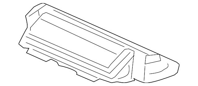 light assembly high mount stop honda 34270 ta0 003. Black Bedroom Furniture Sets. Home Design Ideas