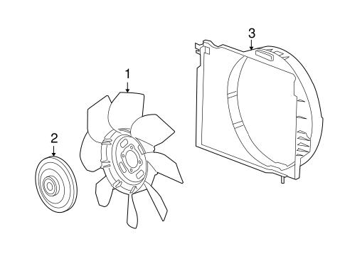 Cooling Fan For 2010 Hummer H3