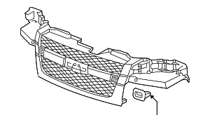 Grille - GM (12335790)