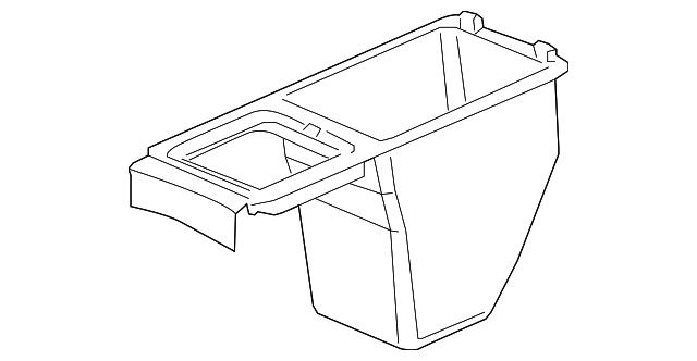 2004 2009 Jaguar Storage Compartment C2c31863
