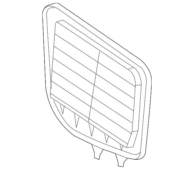 2004 2011 Cadillac Air Filter 25798271