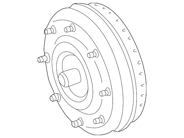 Genuine Ford Torque Converter 4l2z 7902 Barm