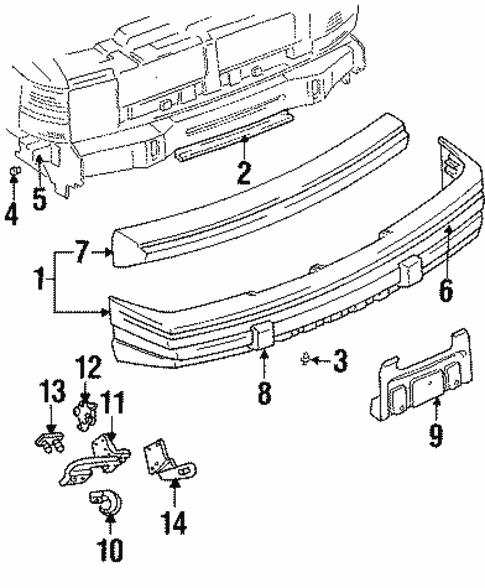 dodge journey front bumper parts