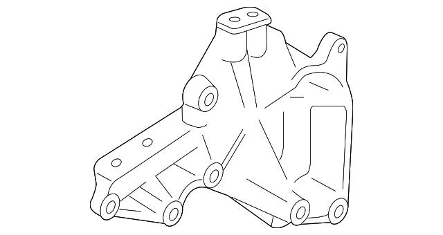 Toyota 12315-31091 Engine Mounting Bracket