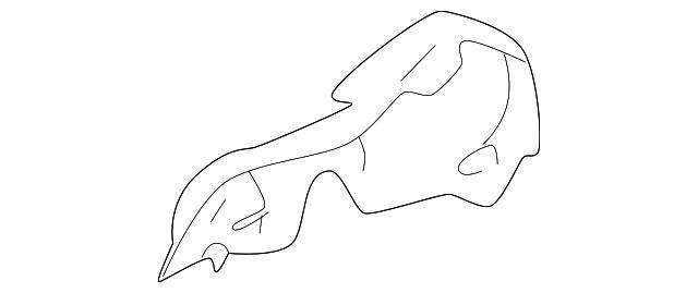 2001-2005 Toyota RAV4 Inner Cover 71861-42040-E0 | OEM Parts To You
