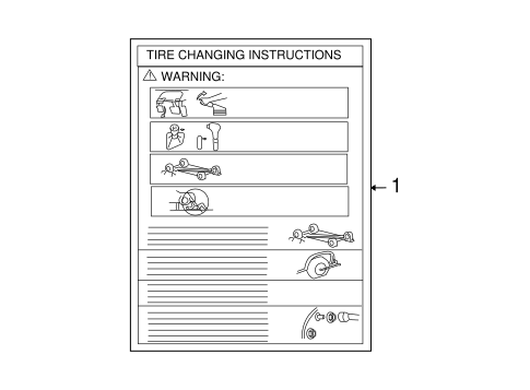 Body/Labels for 2008 Ford Taurus #1