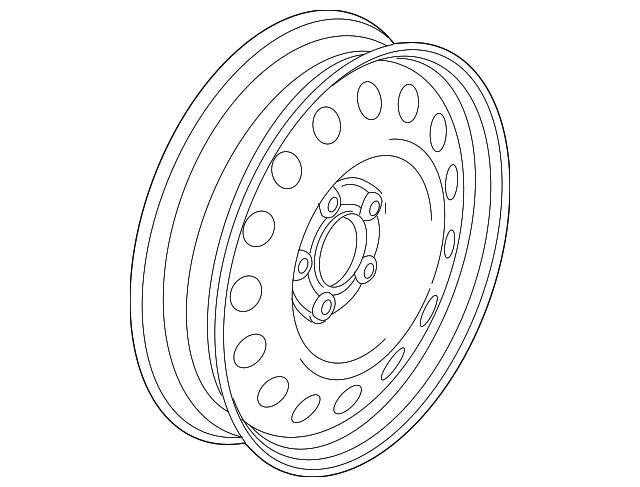 Spare Wheel - 2014 Audi S4 (8K0601027F)
