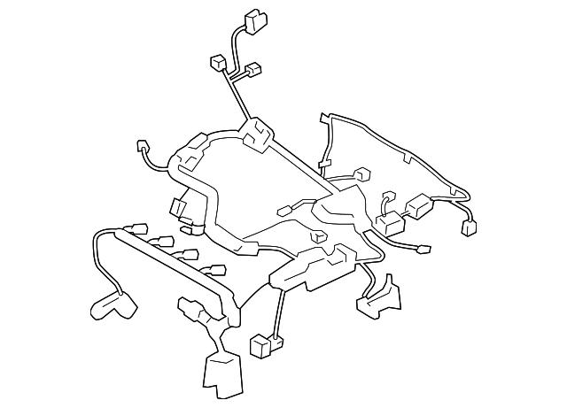 engine harness - kia (91440-3f863)
