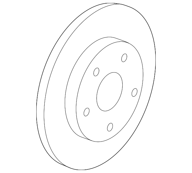 genuine gm rotor 23118537